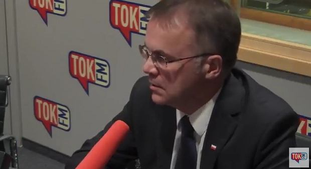 Jarosław Sellin w 'Poranku Radia TOK FM'