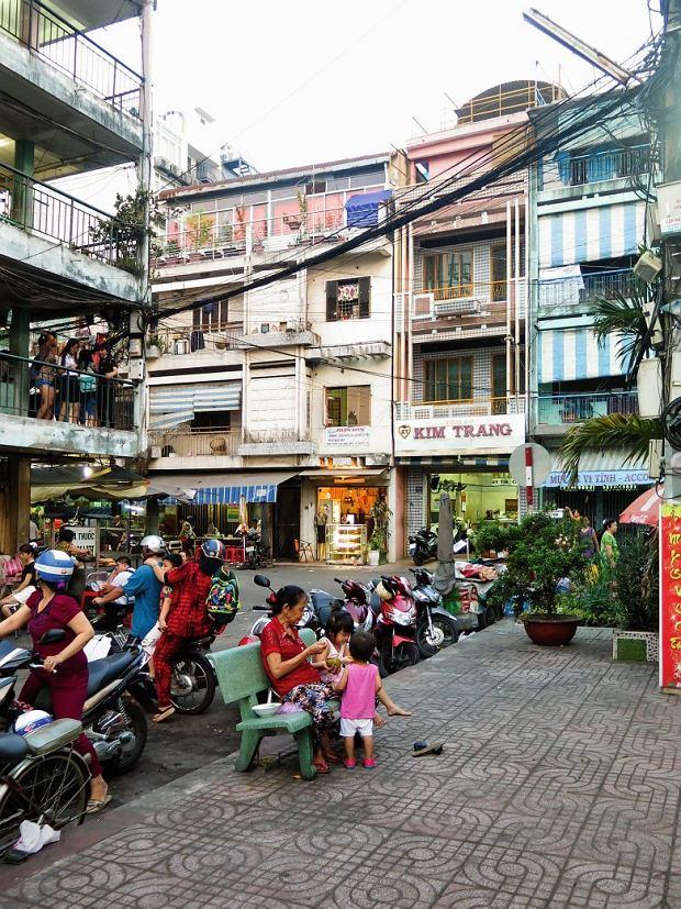 Sajgon, ulice miasta