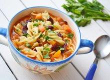 Włoska pomidorówka z fasolą - ugotuj