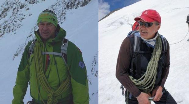 Ryszard Gajewski i Maciej Berbeka