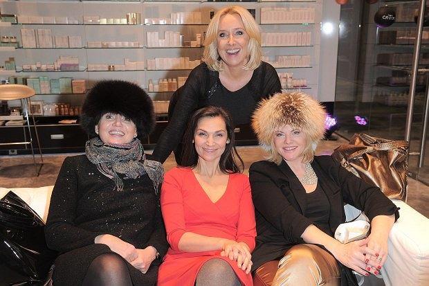 Olga Bończyk, Agata Młynarska, Małgorzata Pieńkowska, Joanna Kurowska