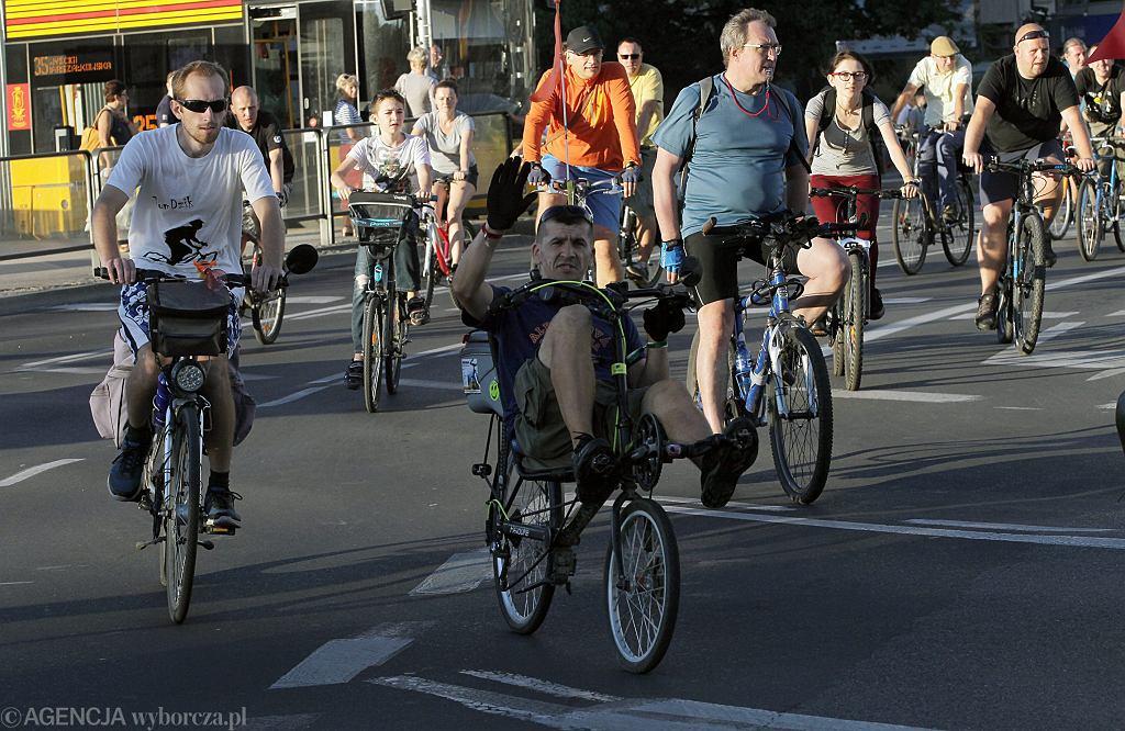 Warszawa wygrała rywalizację stojaki rowerowe