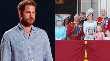 Książę Harry, rodzina królewska
