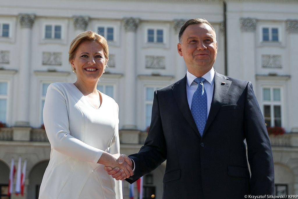 Prezydent Słowacji z pierwszą oficjalną wizytą w Polsce