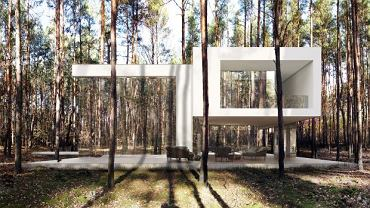 Wizualizacja lustrzanego domu
