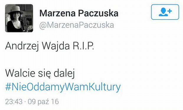 Wpis Marzeny Paczuskiej