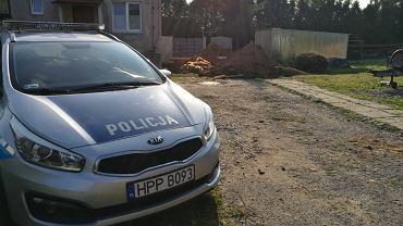 W rejonie ośrodka zdrowia w Grodźcu znaleziono pocisk moździerzowy