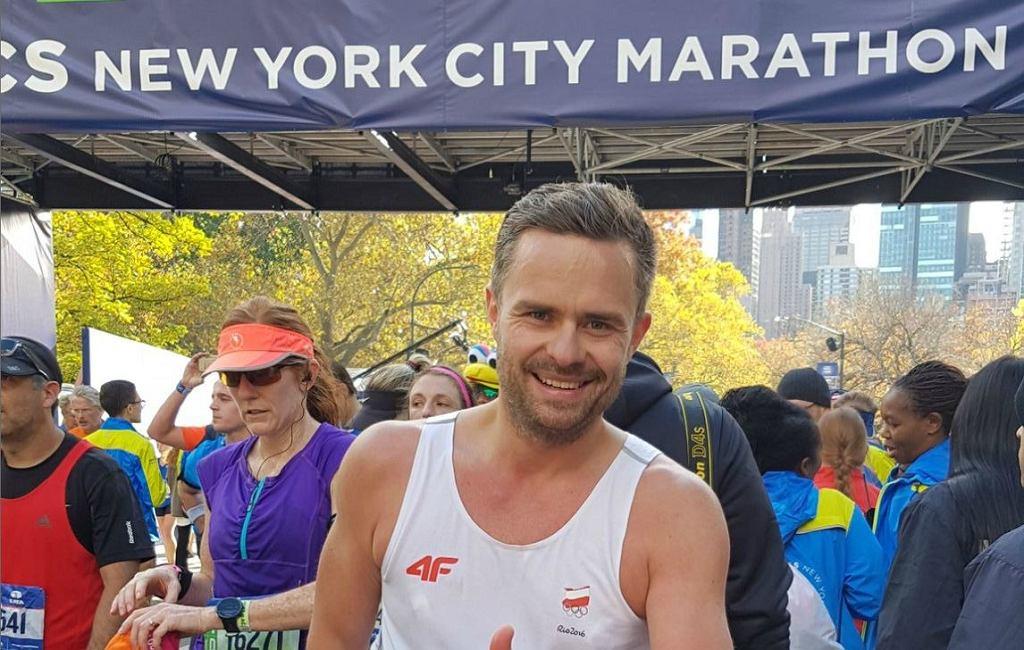 Adam Hofman jest zapalonym biegaczem