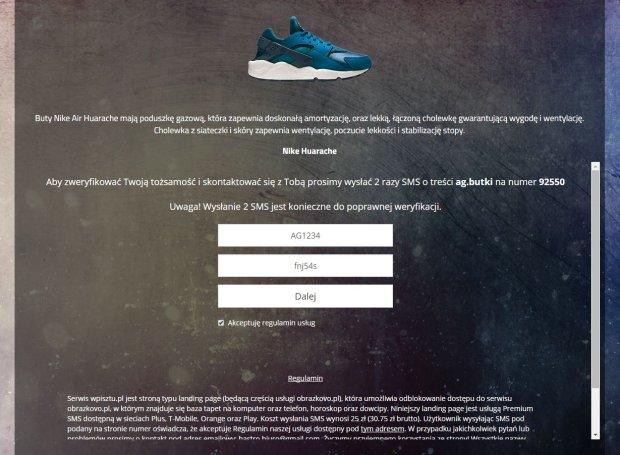 adidas darmowe buty oszustwo