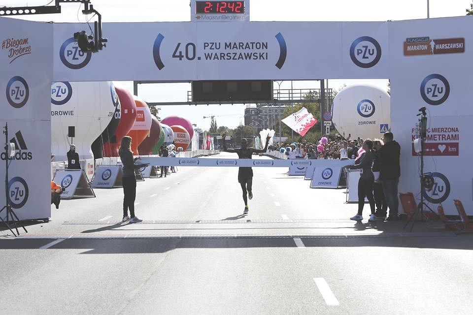 40. PZU Maraton Warszawski - David Metto, zwycięzca