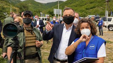 Prezydent RP Andrzej Duda z wizytą w Gruzji