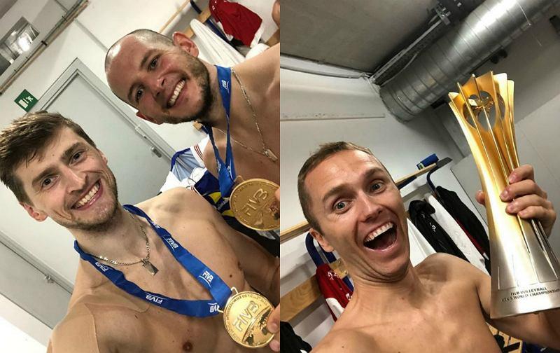 MŚ siatkówka 2018. Bartosz Kurek z drużyną świętuje zwycięstwo na Instagramie