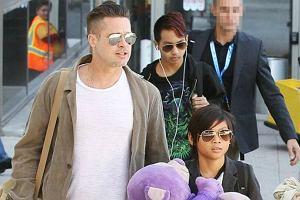 Brad Pitt, Maddox, Pax