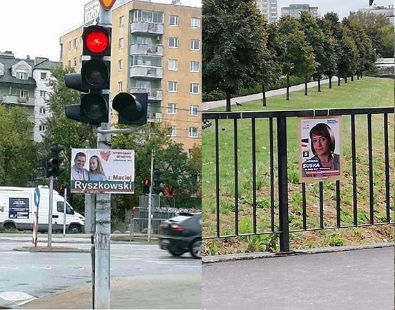 Wybory Samorządowe 2018 Plakaty Wyborcze Zaśmiecają