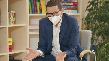 Premier Mateusz Morawiecki odpowiedział na pytania uczniów z okazji Dnia Dziecka