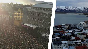 Reykjavik, protest