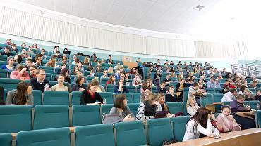 Wykład na UAM (zdjęcie ilustracyjne)
