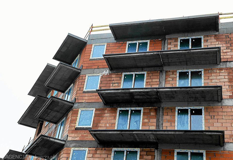 Mieszkanie w budowie