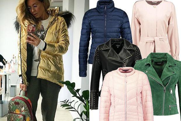 Kolaż, kurtki na wiosnę/Materiały partnera