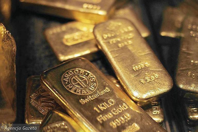 Sztabki złota - zdjęcie ilustracyjne