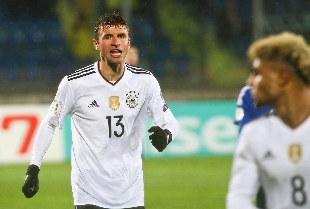 Mecz eliminacji piłkarskich mistrzostw świata pomiędzy San Marino a Niemcami