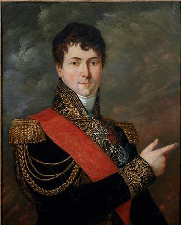 Portret generała Charlesa-Etienne Gudina (1768-1812), który namalował Georges Rouget