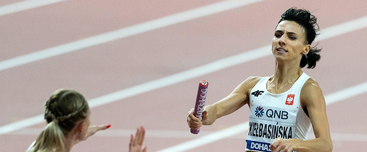 Anna Kiełbasińska podczas Mistrzostw Świata w Lekkoatletyce, Doha 2019 (Fot. Grzegorz Celejewski / Agencja Gazeta)