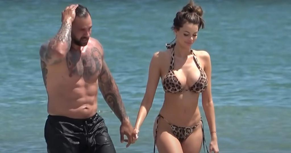 Justyna Gradek i rumuński milioner Alex Bodi.