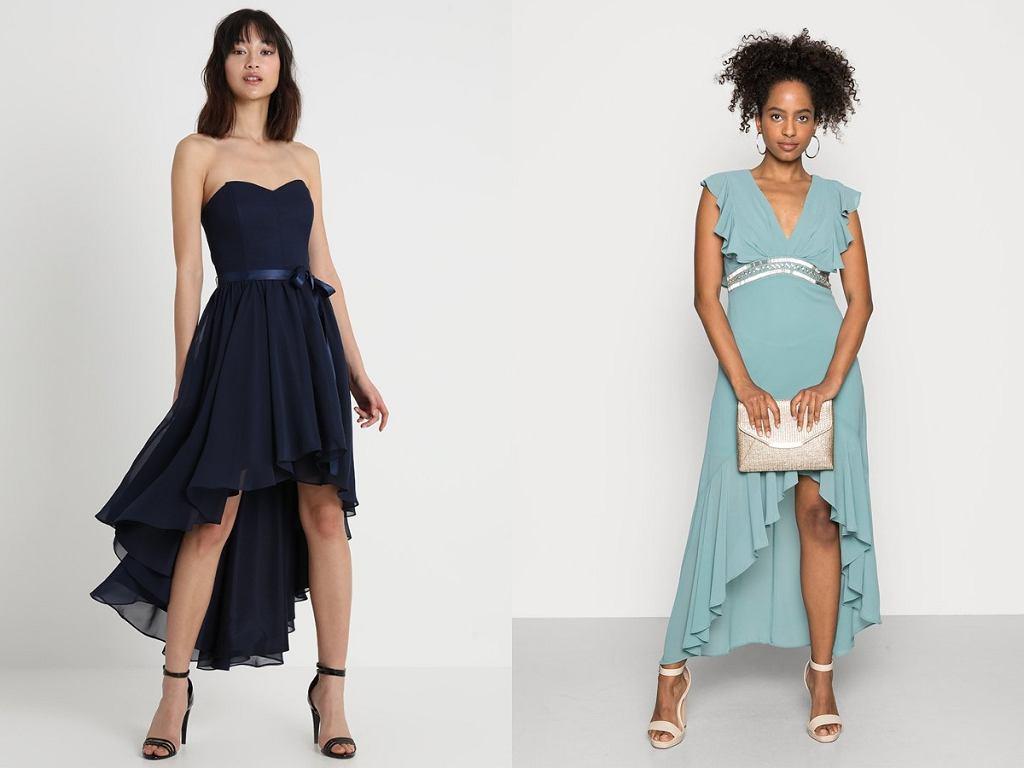 sukienki z dłuższym tyłem
