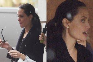 Angelina Jolie trafia ostatnio na pierwsze strony tabloidów nie z powodu swoich osiągnięć artystycznych, lecz rzekomych poważnych problemów ze zdrowiem. Gwiazda zmaga się podobno nie tylko z zaburzeniami odżywiania, ale również depresją i paranoją, a wszystko to wyraźnie odbija się na jej formie i wyglądzie. Słynąca niegdyś z seksownych kształtów gwiazda waży teraz ponoć zaledwie... 39 kilogramów. Niedawno paparazzi przyłapali Angelinę Jolie w Londynie na spacerze z dziećmi. Choć gwiazda próbowała zamaskować swoją szczupłą sylwetkę luźnym strojem, to i tak widać, że nie jest w najlepszej formie.