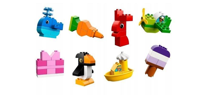 Za pomocą zabawy klockami Lego, dziecko może rozwijać swoją wyobraźnię i uczyć nowych kolorów i kształtów.