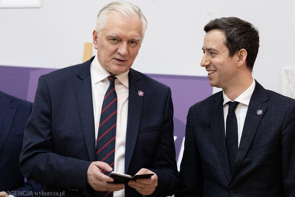 Jarosław Gowin i Marcin Ociepa