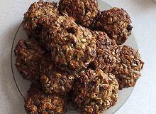 Zdrowe ciasteczka owsiane z bakaliami - ugotuj