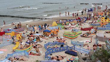 Plaża w Mielnie (zdjęcie ilustracyjne)