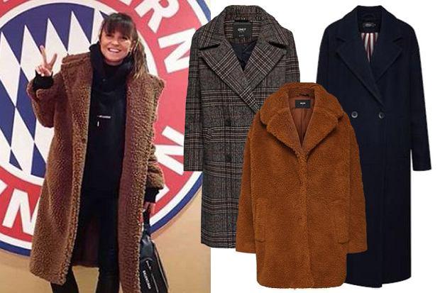 płaszcze na zimę w stylu Anny Lewandowskiej / mat. partnera