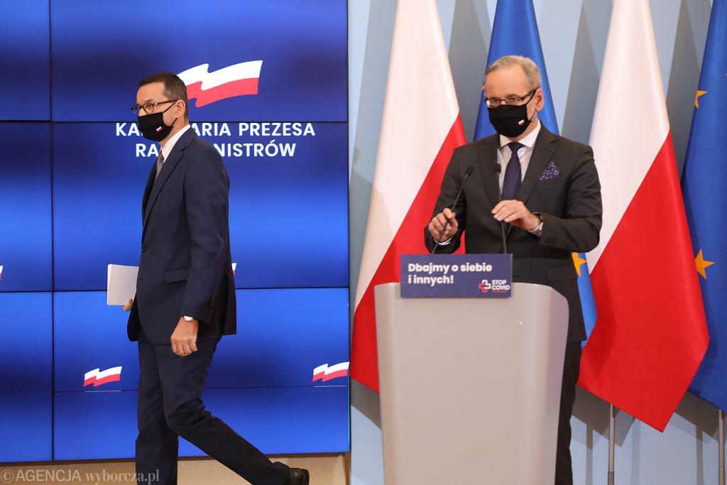 Mateusz Morawiecki, Adam Niedzielski