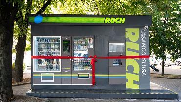 Ruch otworzył w Warszawie pierwszy samoobsługowy kiosk