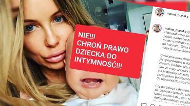 Malina Błańska udostępniła zdjęcie Małgorzaty Rozenek