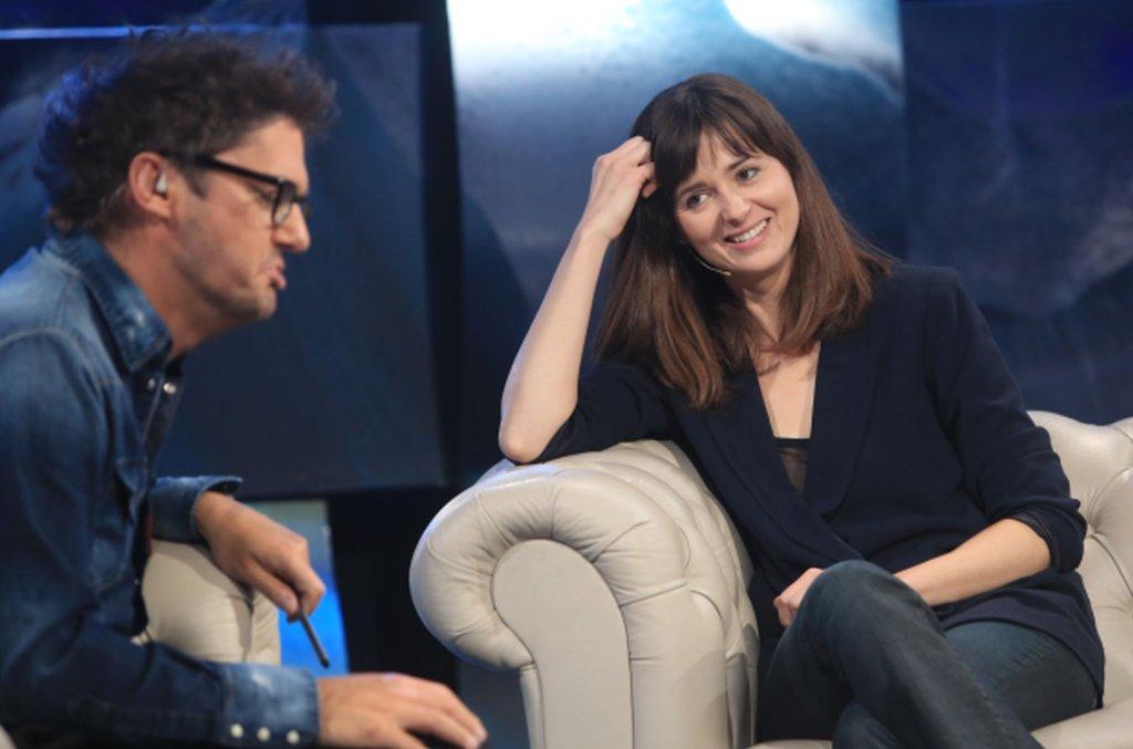 Kuba Wojewódzki i Agnieszka Grochowska