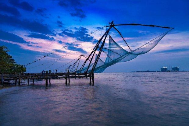 Tradycyjny połów ryb, Cochin/ Fot. Shutterstock