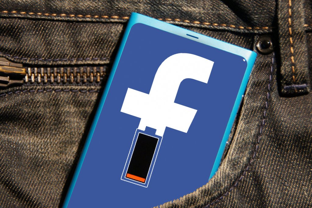 Facebook wysysa energię
