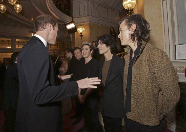 Książę Cambridge z One Direction