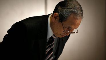 Satoshi Tsunakawa, prezes Toshiby
