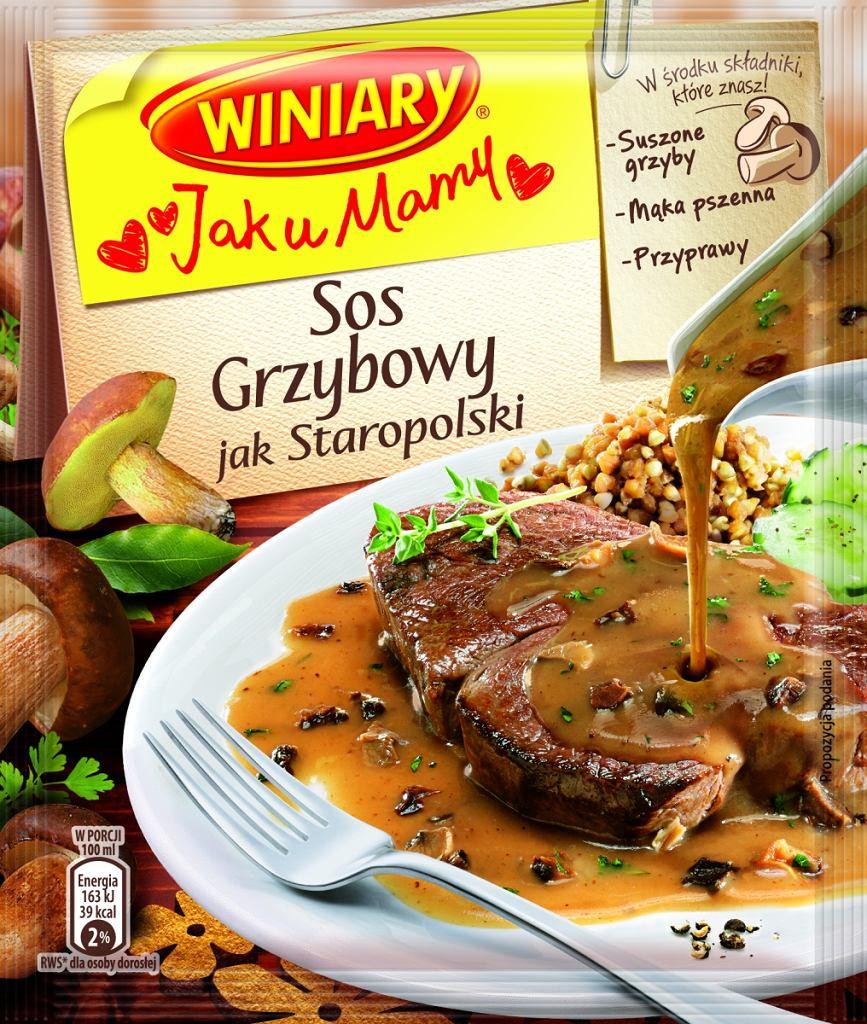Winiary Sosy Jak u Mamy - sos grzybowy staropolski