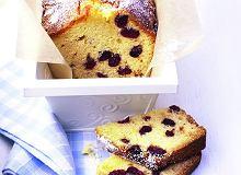 Ciasto z marcepanem i żurawiną - ugotuj