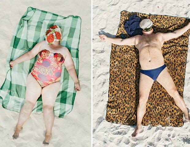 Na plaży nikt nie przejmuje się tym, jak wygląda i czy inni go oceniają. Piękno ludzkiej naturalności na swoich fotografiach uwiecznił litewski fotograf.