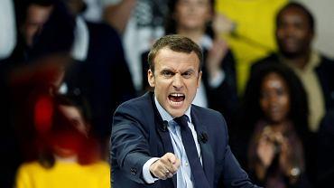 Emmanuel Macron, niezależny kandydat na prezydenta Francji