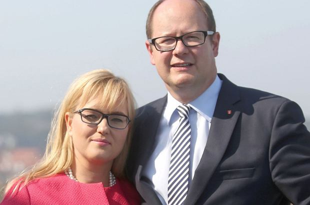 Paweł i Magdalena Adamowicz