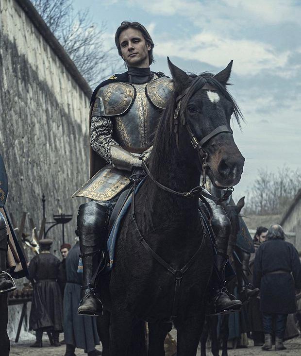Maciej Musiał w serialu 'Wiedźmin' jako Sir Lazlo