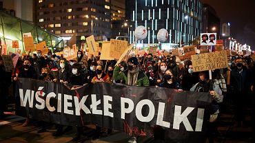 Protesty po decyzji TK